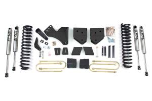 """Steering And Suspension - Lift & Leveling Kits - BDS Suspension - BDS 558H 6"""" Suspension Lift Kit - 2008-10 Ford F250/F350 4WD"""