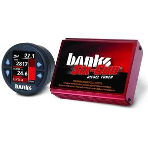 Shop By Part - Programmers & Tuners - Banks - Banks 61412 Six-Gun Diesel Tuner & Banks iDash 1.8  for GM 04.5-05 Duramax LLY