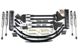 """Steering And Suspension - Lift & Leveling Kits - BDS Suspension - BDS 596H 6"""" 4-Link Lift Kit - 2011-16 Ford F250/F350 4WD"""