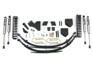 """Steering And Suspension - Lift & Leveling Kits - BDS Suspension - BDS 594H 6"""" Suspension Lift Kit - 2011-16 Ford F250/F350 4WD"""