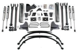 "BDS Suspension - BDS 1500H 8"" 4-Link Suspension Lift Kit | 2011-2016 Ford F250/F350 4WD"