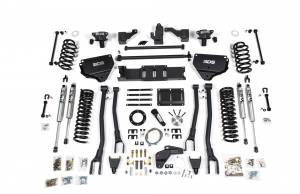 "Steering And Suspension - Lift & Leveling Kits - BDS Suspension - BDS 1626H 8"" 4-Link Suspension System 