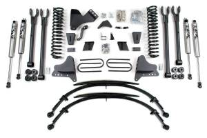 """Steering And Suspension - Lift & Leveling Kits - BDS Suspension - BDS 567H 8"""" 4 Link Suspension System 