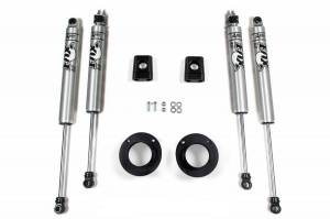 "Steering And Suspension - Lift & Leveling Kits - BDS Suspension - BDS 694H 2"" leveling Kit for 2013-2018 Dodge RAM 3500"