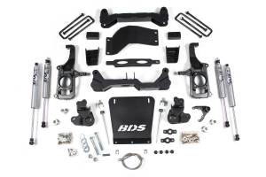 "Steering And Suspension - Lift & Leveling Kits - BDS Suspension - BDS 719H 4-1/2"" Suspension Lift Kit 