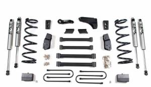 "Steering And Suspension - Lift & Leveling Kits - BDS Suspension - BDS 607H 6"" Lift Kit for the 2009-2013 Dodge 2500 3/4 Ton & 2009-2012 3500 1 Ton 4WD Gas & Diesel Pickup."