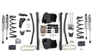 "Steering And Suspension - Lift & Leveling Kits - BDS Suspension - BDS 641H 8"" Long Arm Kit for the 2008 3/4 Ton & 1 Ton 4WD Pickup"