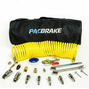 Pac Brake - PacBrake AMP Air Tanks Curly Hose and Accessory Kit