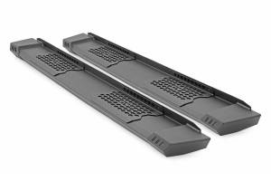 Exterior - Running Boards - Rough Country - Ford HD2 Running Boards (99-16 Super Duty | Crew Cab)