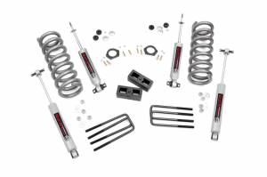 Steering And Suspension - Lift & Leveling Kits - Rough Country - 2-inch Suspension Lift Kit | 88-98 2wd GM Pickup/SUV 5 Lug