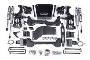 "2020 GM 6.6L L5P Duramax - Suspension Lift Kits/Parts - BDS Suspension - BDS Suspension 6.5"" Lift | 2020 Chevy/GM HD 4x4"