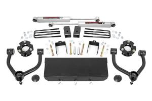 2016-2019 Nissan 5.0L Cummins - Suspension Parts, Lift & Leveling Kits - Rough Country - 3in Nissan Lift Kit (16-20 Titan XD 2WD/4WD)