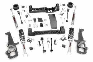 Dodge/Jeep Ecodiesel - 2014-2018 Ram 1500 3.0 Ecodiesel - Rough Country - 4in Dodge Suspension Lift Kit | N3 Struts & N3 Shocks (12-18 Ram 1500 4WD)