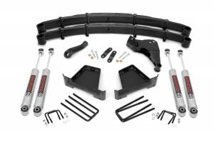 Steering And Suspension - Lift & Leveling Kits - Rough Country - 5in Ford Suspension Lift Kit (00-05 Excursion 4wd)