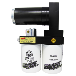 Fuel System & Components - Fuel System Parts - FASS - TITANIUM SIGNATURE SERIES DIESEL FUEL LIFT PUMP 220GPH@55PSI FORD POWERSTROKE 7.3L AND 6.0L 1999-2007 (TS F14 220G)