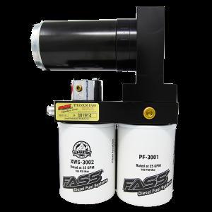 Fuel System & Components - Fuel System Parts - FASS - TITANIUM SIGNATURE SERIES DIESEL FUEL LIFT PUMP 260GPH@45PSI DODGE CUMMINS 5.9L 1994-1998 (TS D10 260G)