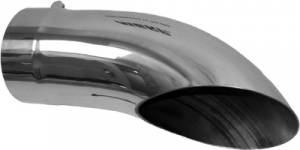 """Exhaust - Exhaust Tips - MBRP - MBRP T5085 5""""x 5"""" x 14"""" Turn Down exhaust tip"""