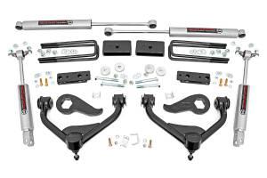 "2020 GM 6.6L L5P Duramax - Suspension Lift Kits/Parts - Rough Country - Rough Country 3"" Bolt-On Lift Kit | 2020 GM 2500HD/3500HD"