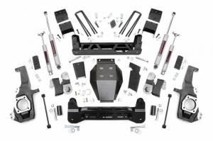 "2020 GM 6.6L L5P Duramax - Suspension Lift Kits/Parts - Rough Country - Rough Country 5"" NTD Lift Kit | 2020 GM 2500HD/3500HD"