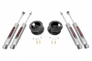 Steering And Suspension - Lift & Leveling Kits - Rough Country - 2.5in Dodge Leveling Kit | 2013-20 Ram 3500 4WD With Rear Leaf Springs
