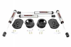 Steering And Suspension - Lift & Leveling Kits - Rough Country - 2.5in Dodge Lift Kit | V2 Monotube Shocks (14-20 Ram 2500 4WD)