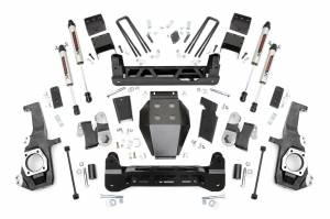 "2020 GM 6.6L L5P Duramax - Suspension Lift Kits/Parts - Rough Country - Rough Country 5"" NTD Lift Kit With V2 Monotube Shocks 
