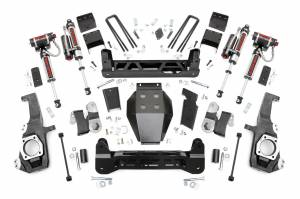"2020 GM 6.6L L5P Duramax - Suspension Lift Kits/Parts - Rough Country - Rough Country 5"" NTD Lift Kit With Vertex Reservoir Shocks 