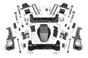 """Rough Country 7"""" NTD Lift Kit With V2 Monotube Shocks 