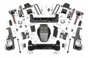 "2020 GM 6.6L L5P Duramax - Suspension Lift Kits/Parts - Rough Country - Rough Country 7"" NTD Lift Kit With Vertex Reservoir Shocks 