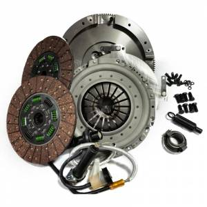 Transmission - Manual Transmission Parts - Valair Performance Diesel Clutches - Valair QG56DDSN-ORG Quiet Street Dual Disc Clutch 05.5-18 Dodge 6spd