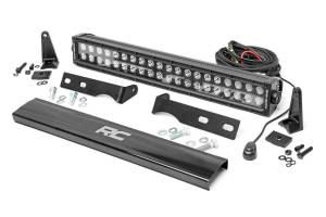 Dodge/Jeep Ecodiesel - 2014-2018 Jeep Grand Cherokee 3.0 Ecodiesel - Rough Country - Jeep 20in LED Bumper Kit (11-20 WK2 Grand Cherokee)