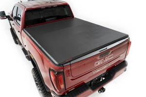 "2020 GM 6.6L L5P Duramax - Exterior Accessories - Rough Country - GM Soft Tri-Fold Bed Cover (2500HD/3500HD - 6' 9"" Bed)"